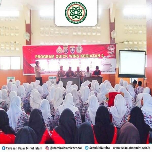 Korbinmas Polri Berikan Wawasan Kebangsaan Bagi Siswa SMA dan SMK Namira
