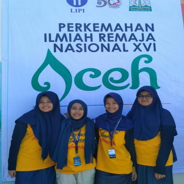 Siswa dan Guru SMA Namira Ikuti PIRN XVI Aceh 2017