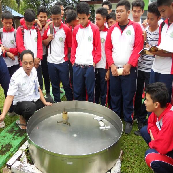 #EduTour SMA Namira : Belajar di BMKG dan Museum Perjuangan TNI