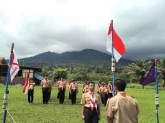 Pramuka SMA Namira Laksanakan Perjusami di Sibolangit
