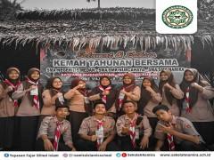 Pramuka SMA Namira Ikuti Perkemahan Bersama di Sobolangit
