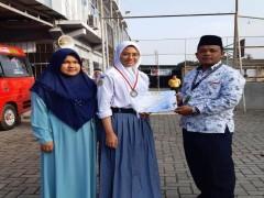 Siswa SMA Namira (Gizza Divia Cantika) Raih Juara II Karate