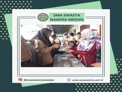 Siswa SMA Namira Praktik Wirausaha