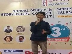 Siswa SMA Namira Masuk Semi Final The Annual British Academy Speech and Story Telling Contest 2017