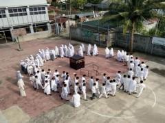 Siswa Sekolah Namira Laksanakan Manasik Haji