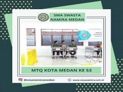 MTQ ke-53 Kota Medan : 7 Siswa SMA Namira wakili Medan Selayang