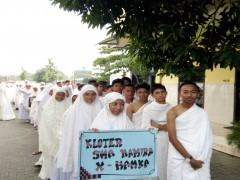 Siwa Sekolah Namira Laksanakan Manasik Haji