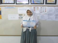 Siswa SMA Namira Raih Juara Harapan II Lomba Baca Puisi