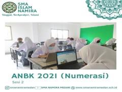 Siswa SMA Namira Ikuti ANBK 2021